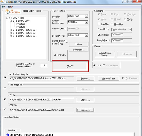 Samfirm is a tool to quickly download firmware for samsung devices.