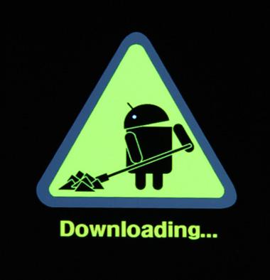 Samsung GT-B7510 Galaxy Pro download mode