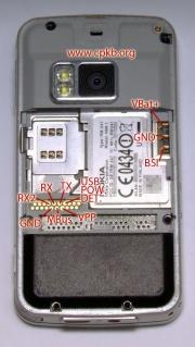 180px Nokia n96 pinout