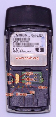 Nokia 8310 pinout cpkb cell phone knowledge base nokia 8310 pinout thecheapjerseys Images