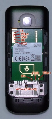 Nokia C5 00 Pinout Cpkb Cell Phone Knowledge Base
