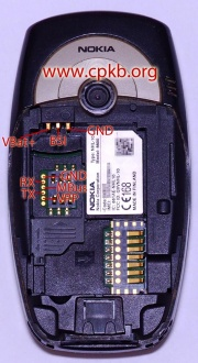 Nokia 6600 pinout - CPKB - Cell Phone Knowledge Base
