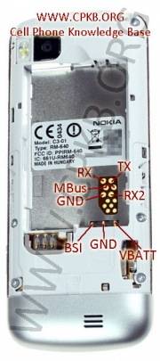 Nokia C3 01 Pinout Cpkb Cell Phone Knowledge Base